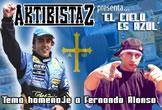 Homenaje a Fernando Alonso de Aktibistaz