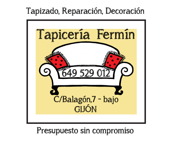 tapizados asturias, tapiceria fermin