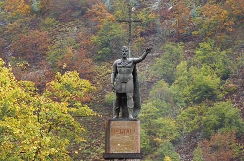 Pelayo, Reino de Asturias