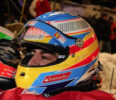 Nuevo casco de Ferrando Alonso para Ferrari