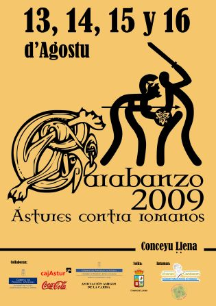 Festival astur romano de la carisa, pola de lena, Asturias