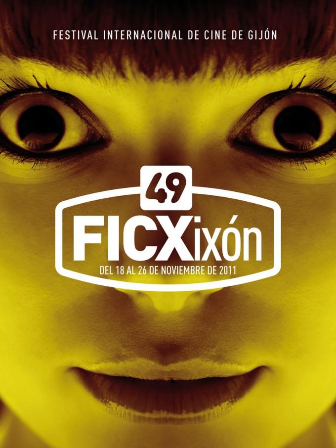 cartel del 49 edicion del festival internacional de cine de gijon 2011 asturias