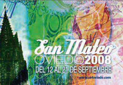 Fiestas de San Mateo 2008, Oviedo, Asturias