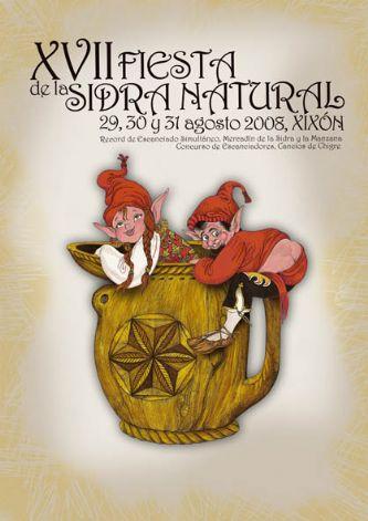 Fiesta de la sidra natural gijon 2008