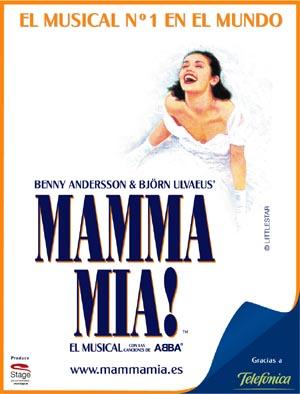 el musical mamma mia en oviedo teatro campoamor